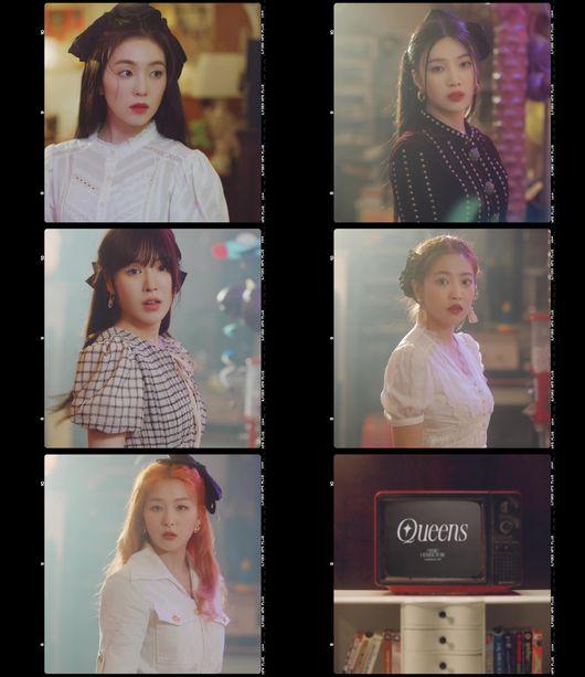 為八月回歸準備!Red Velvet 釋出名為「Queens Archive」的神祕影片引起好奇。